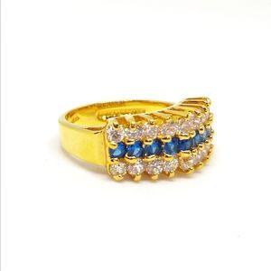 14k HGE LIND Vintage ring size 7 3/4